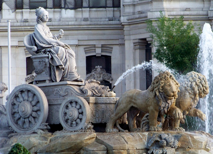 cybele fountain Madrid