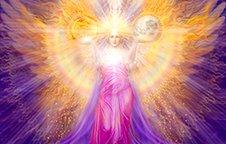 Goddess Sophia by Marius Fine Art Studio