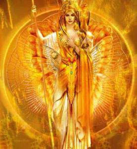 madria vicka The Golden Goddess by Jean-Luc Bozzoli.