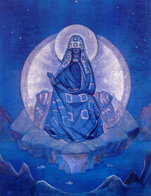 Nicholas Roerich - Mother of the World 1924
