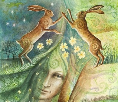 Ostara and the Hare's Egg