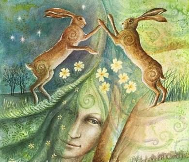 Ostara and the Hare's Egg
