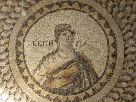 Soteria floor mosaic Turkey