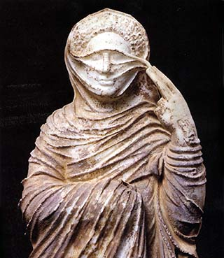 Veiled Goddess of Lybia