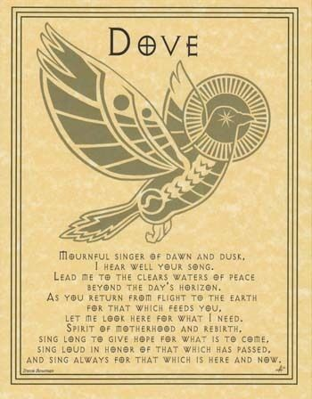 Dove Pagan Prayer