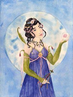 Miniature Maypole, Symbols Of Love, Flower Moon