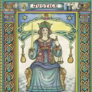 Divine Lady Justice - West - Autumn