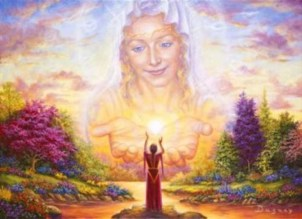 divine mother sovereign grace of beauty and harmony