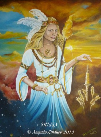 Frigga (Beloved) by Amanda Lindupp 2013