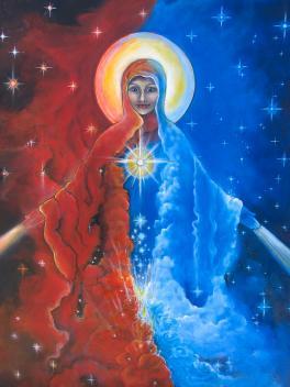 Mother Mary Nebula by Tara Rieke