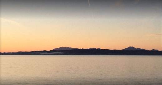 Arisaig sunrise by Tom Henderson April 2015