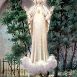 2. our lady of beauraing apparition site prayer card