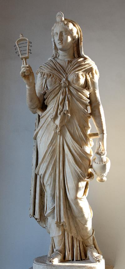 An alabaster statue of Isis from the 3rd century BCE, found in Ohrid, in the Republic of Macedonia