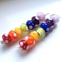 rainbow-lampwork-beads
