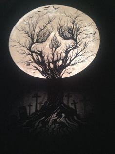 skull-moonlight