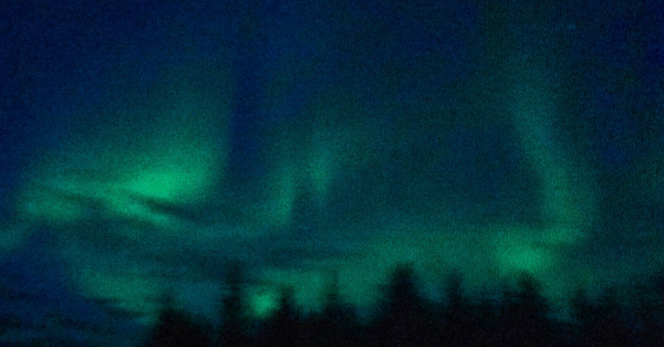 Image of Alaskan Aurora taken by my son, Bill Slayton (ArchMadria Pamela Lanides)