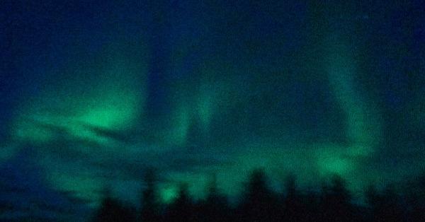 Image of Alaskan Aurora taken by my son, Bill Slayton (ArchMadria Pamela Lanides)