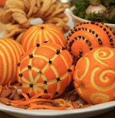 orange-pomanders