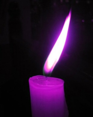 violet-candle-1