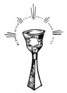 Chalice inside Madrian The Mythos Of The Divine Maid Booklet 1977
