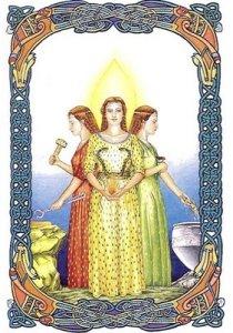 Brighde Triple Goddess