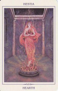 Hestia in Ancient Feminine Wisdom by Kay Stevenson & Brian Clark