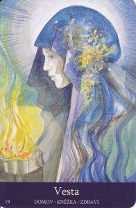 Hestia in Goddesses of the New Light by Pamela Matthews (as Vesta)
