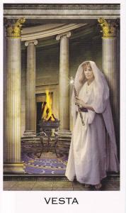 Hestia in Oracle of the Goddess by Anna Franklin & Paul Mason (as Vesta)