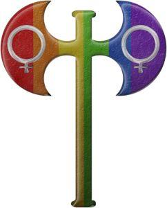 lesbian-pride-rainbow-labrys