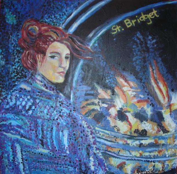 st-bridget-an-acrylic-painting-by-karin-teresa-mccaslin-fain-copyright-2005