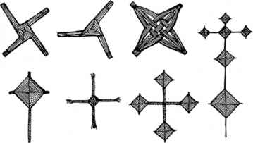 various-brigid-crosses