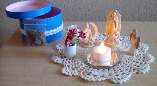 ArchMadria Kathi Deanic Travel Altar Open