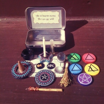 Wiccan Altar 1